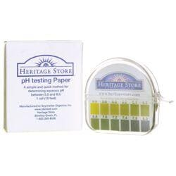 Heritage ProductspH Testing Paper