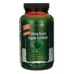 Irwin NaturalsMen's Living Green Liquid-Gel Multi