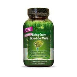 Irwin NaturalsWomen's Living Green Liquid-Gel Multi