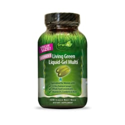Irwin Naturals Women's Living Green Liquid-Gel Multi