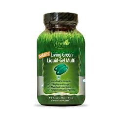 Irwin NaturalsMen's Living Green Liquid-Gel Multi