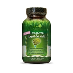 Irwin NaturalsWomen's Living Green Liquid-Gel Multi