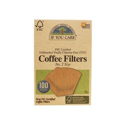 If You CareUnbleached Coffee Filters No. 2