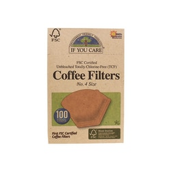 If You Care Unbleached Coffee Filters No. 4