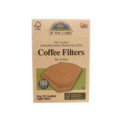 If You CareUnbleached Coffee Filters No. 6