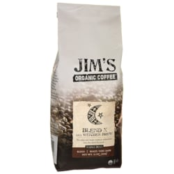 Jim's Organic CoffeeWhole Bean Coffee Blend X aka Witches Brew