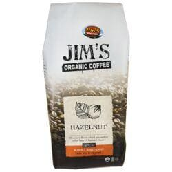 Jim's Organic CoffeeGround Coffee - Hazelnut