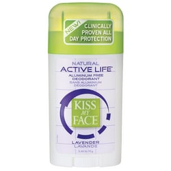 Kiss My Face Natural Active Life Aluminum Free Deodorant - Lavender