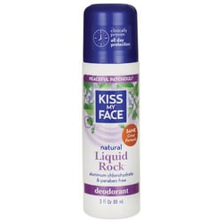 Kiss My FaceLiquid Rock Roll-On Deodorant Peaceful Patchouli