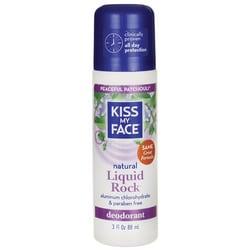 Kiss My Face Liquid Rock Roll-On Deodorant Peaceful Patchouli