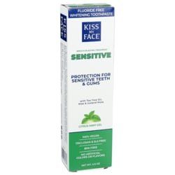 Kiss My FaceSensitive Toothpaste - Orange Mint Gel