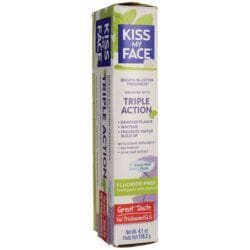 Kiss My FaceTriple Action Toothpaste Fluoride Free - Fresh Mint Paste