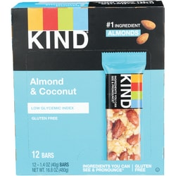 Kind Kind Fruit and Nut Bars Almond and Coconut