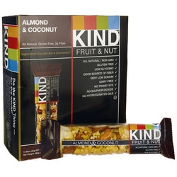 KindKind Fruit and Nut Bars Almond and Coconut