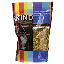 KindHealthy Grains Vanilla Blueberry Clusters with Flax Seeds