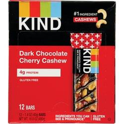 Kind Plus Bars Dark Chocolate Cherry Cashew