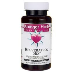 Kroeger HerbResveratrol Six - Japanese Knotweed