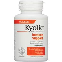 Kyolic#103 Garlic, Vitamin C, Astragalus