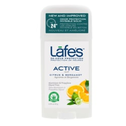 Lafe'sAll Natural Deodorant Stick - Active