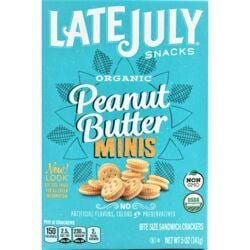 Late JulyOrganic Mini Peanut Butter Sandwich