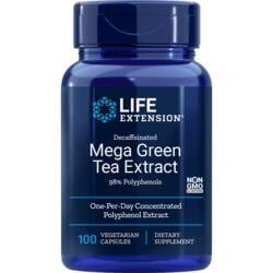 Life ExtensionDecaffeinated Mega Green Tea Extract