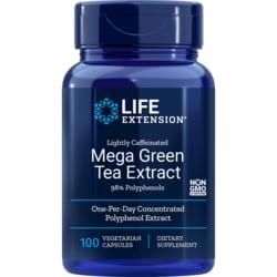 Life Extension Mega Green Tea Ext Lightly Caffeinated