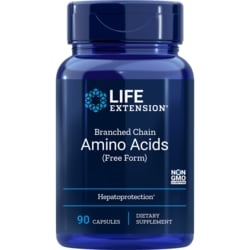 Life Extension Branched Chain Amino Acids (Free Form)