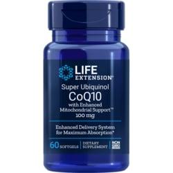Life ExtensionSuper Ubiquinol CoQ10 with Enhanced MitochondrialSupport