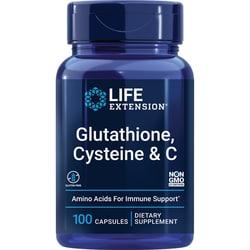 Life ExtensionGlutathione, Cysteine & C