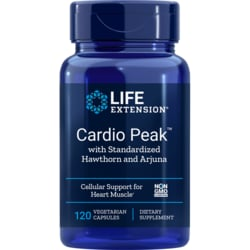 Life ExtensionCardio Peak with Standardized Hawthorn and Arjuna