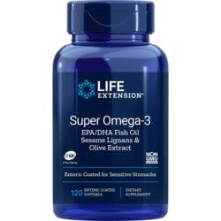 Life ExtensionSuper Omega-3 (Enteric Coated)