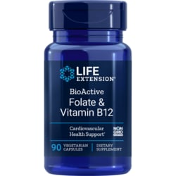 Life ExtensionBioActive Folate & Vitamin B12