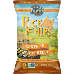 Lundberg Family Farms Rice Chips Santa Fe Barbecue