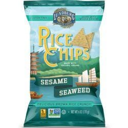 Lundberg Family FarmsRice Chips Sesame and Seaweed