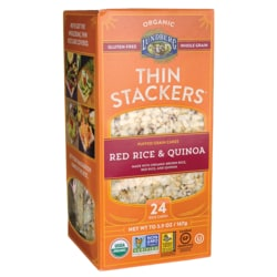 Lundberg Family FarmsThin Stackers Puffed Grain Cakes - Red Rice & Quinoa