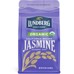 Lundberg Family FarmsOrganic California Brown Jasmine Rice