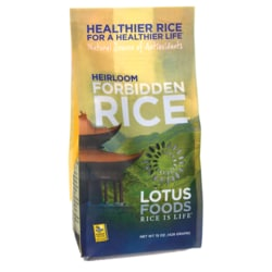 Lotus FoodsHeirloom Forbidden Rice