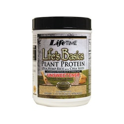 Lifetime Vitamins Plant Protein Unsweetened Vanilla