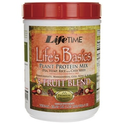 Lifetime Vitamins Life's Basics Plant Protein Mix with 5-Fruit Blend
