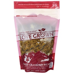 Love Grown FoodsOat Clusters Toasted Granola - Sweet Cranberry Pecan