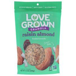 Love Grown FoodsOat Clusters Toasted Granola - Raisin Almond Crunch