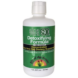Lily of the DesertAloe Vera 80 Detoxifying Formula