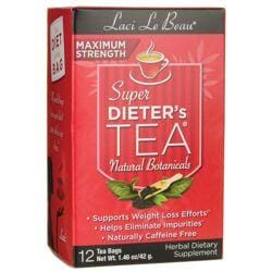 Laci Le Beau TeasMaximum Strength Dieter's Tea All Natural Botanicals
