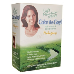 Light Mountain Color the Gray! Mahogany