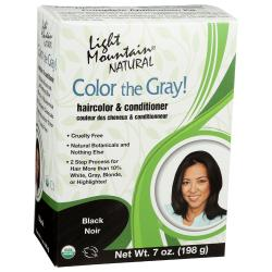 Light MountainColor the Gray! Black