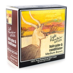 Light Mountain Natural Hair Color & Conditioner - Medium Brown