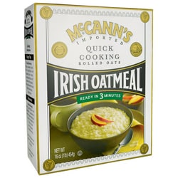 McCann's Irish Oatmeal McCann's Irish Oatmeal Quick Cooking