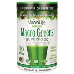 MacroLife NaturalsMacro Greens Nutrient-Rich Super Food