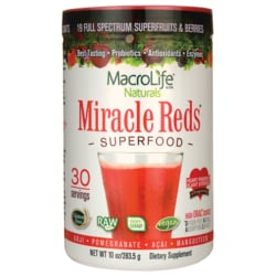 MacroLife NaturalsMiracle Reds Anti-Oxidant Super Food