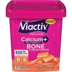 ViactivCalcium plus D - Caramel